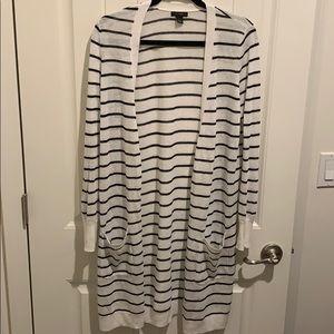 Halogen Striped Cardigan